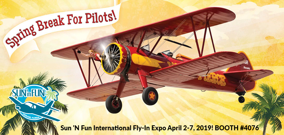Visit HC Pacific At The Sun 'N Fun International Fly-In Expo April 2-7, 2019!