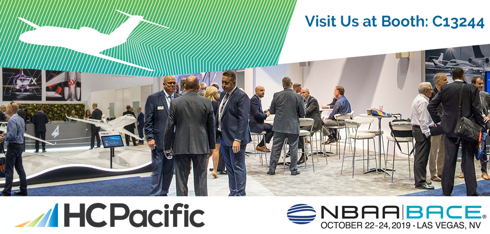 Join HC Pacific At The 2019 NBAA Business Aviation Convention & Exhibition (NBAA-BACE)