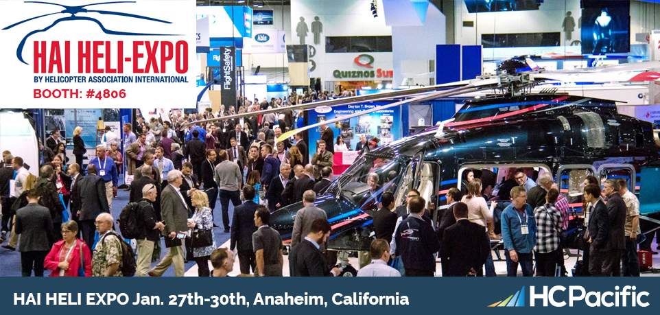 Join HC Pacific At The 2020 Hai Heli-Expo In Anaheim, California