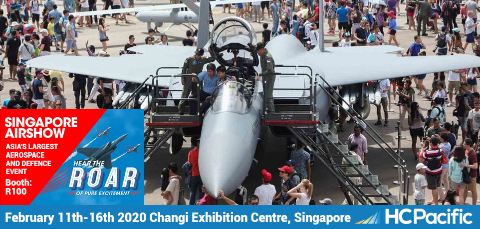 Join HC Pacific At The Singapore Airshow 2020!