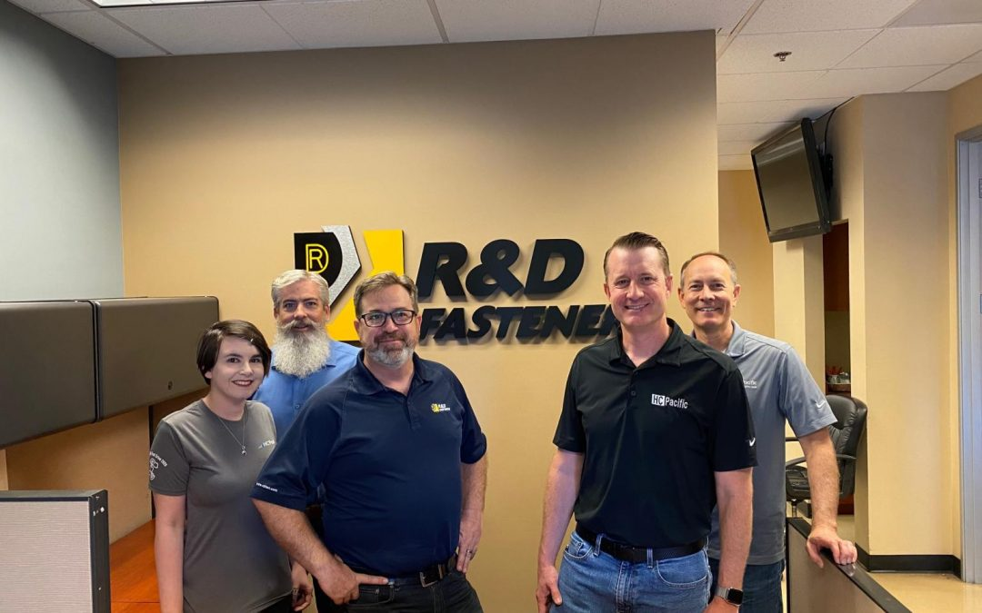 R&D Fasteners Names HC Pacific as Exclusive Distributor for over 900 products